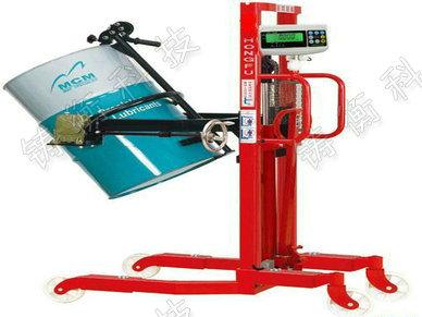 微型带打印电子倒桶秤