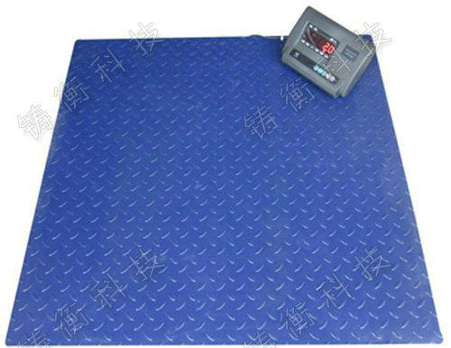 单层碳钢一吨地磅电子秤