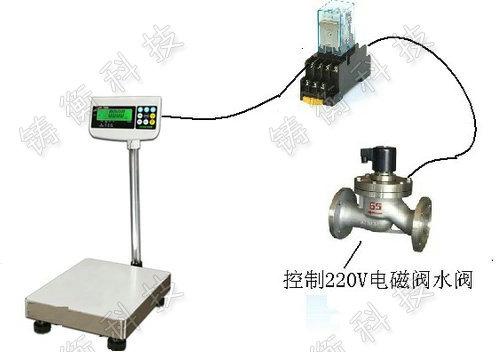 plc控制电磁阀计数电子秤厂家