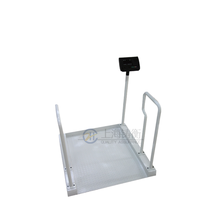 200公斤智能称重轮椅秤,高精度电脑轮椅称