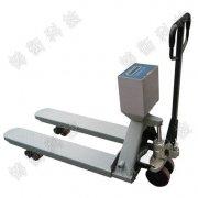 手动液压电子叉车加装