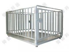 活猪称重围栏秤,动物称重地磅